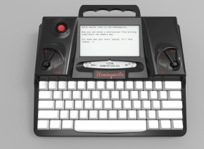 hemingwrite, typerwriter, tech, writing