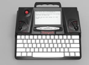 hemingwrite, typerwriter, tech, writing